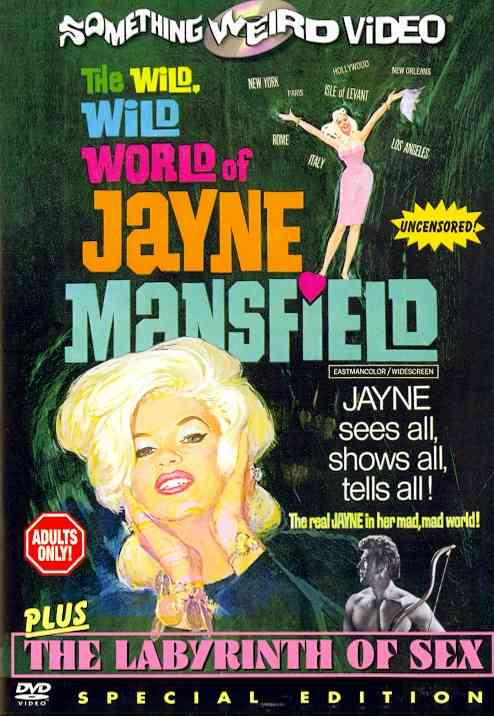 WILD WILD WORLD OF JAYNE MANSFIELD BY MANSFIELD,JAYNE (DVD)